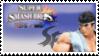 Ryu (white) Smash 4 Stamp by TheTrueMarkyboy