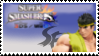 Ryu (Yellow) Smash 4 Stamp by TheTrueMarkyboy