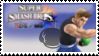 Little Mac (Black) Smash 4 Stamp by DonkeyKongsDab