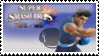 Little Mac (Blue) Smash 4 Stamp by DonkeyKongsDab