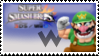 Wario (Green) Smash 4 Stamp by TheTrueMarkyboy