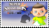 Villager (Citrus) Smash 4 Stamp by TheRealMarkyboy