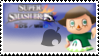 Villager (Green) Smash 4 Stamp by TheRealMarkyboy