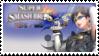 Bayonetta (Grey) Smash 4 Stamp by TheRealMarkyboy