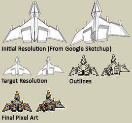 Banking Fighter Pixel Art Tutorial by Pieterator