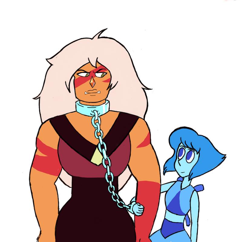 Jasper and Lapis
