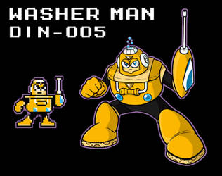 Washer Man