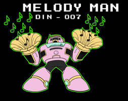 Melody Man -WIP- by erik-red