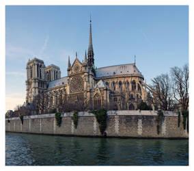 Notre Dame et la Seine by madko