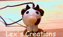 cow pendant by lexs-creations