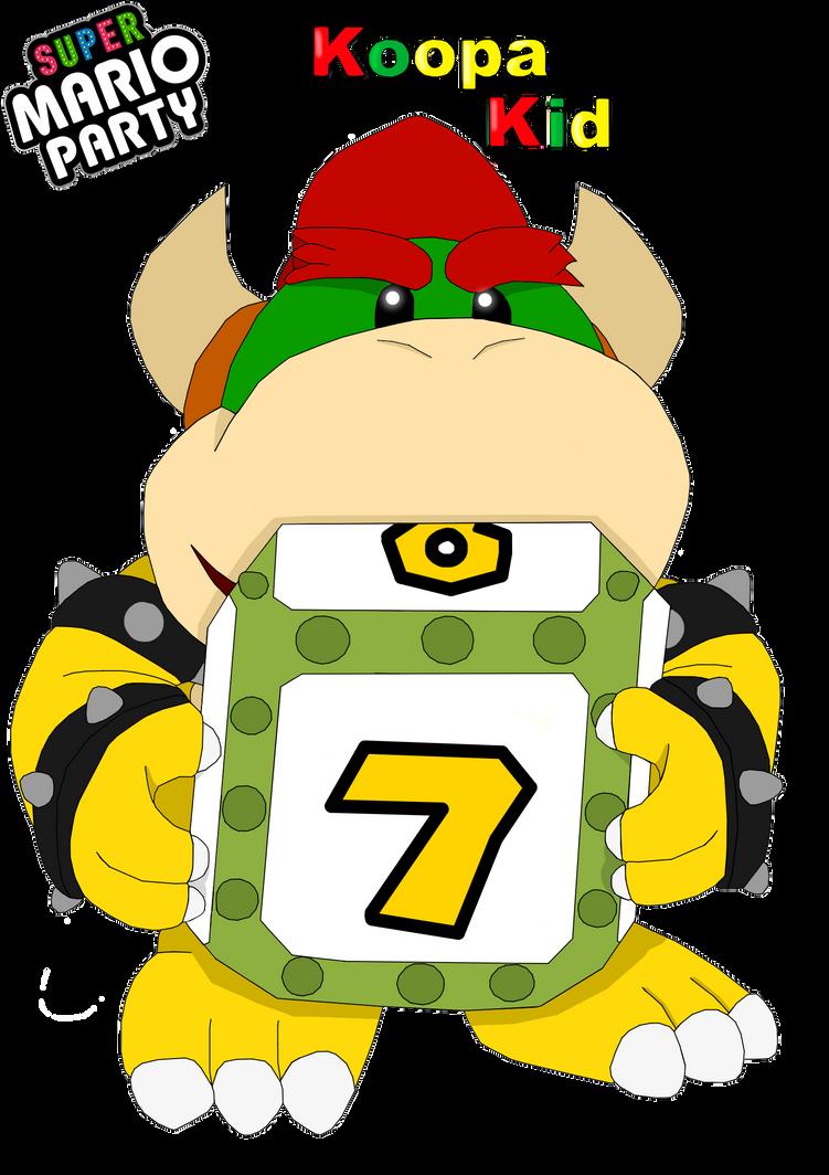 Super Mario Party DLC Character 1 Koopa Kid by AllThingsKoopalings