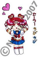 Sailor Chibi Chibi by nemuii