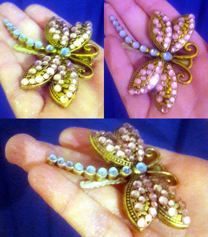 Coraline Dragonfly Hairclip By Lotrmld On Deviantart
