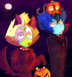 Happy Halloween! by ZaneNidroin