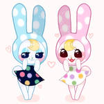 Bunny sisters!!