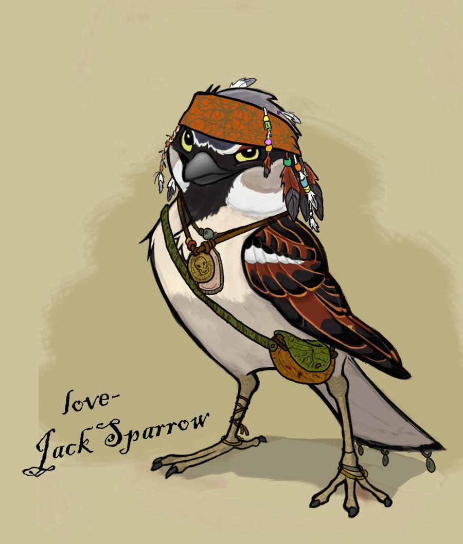 'Jack' Sparrow by killintyme on DeviantArt