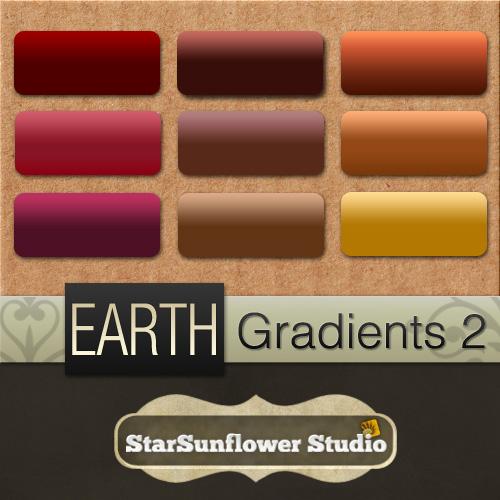 Photoshop Gradients - Earth 2