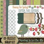 Spring Scrapbook Kit
