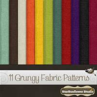 Gimp Patterns Grungy Fabric by starsunflowerstudio