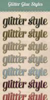 Glitter Glue Styles by starsunflowerstudio
