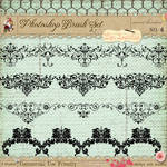 French Borders Brushes 4