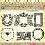 Vintage Stamps PS Brushes 1