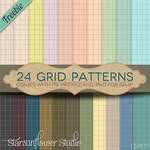 Paper Patterns for PS and Gimp