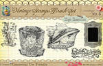 Vintage Stamps PS Brushes 5