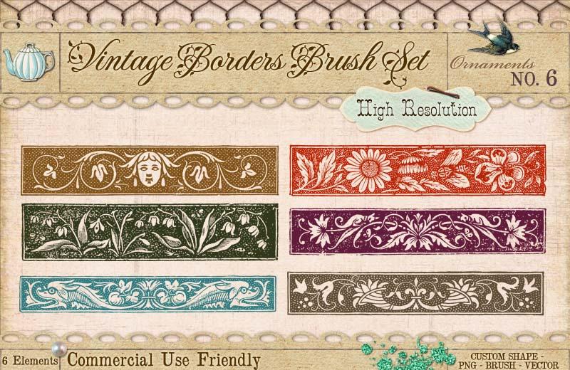 Ornament Borders No. 6