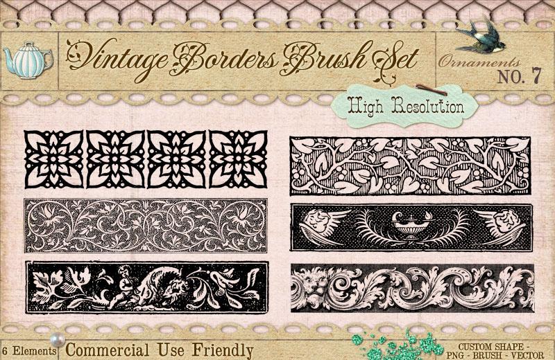 Ornament Borders No. 7