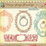 Vintage Stamps No. 7