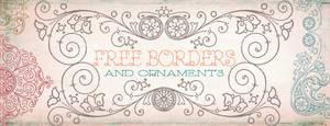 Vintage Frames Borders Clipart 2