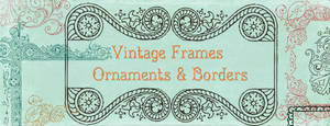 Vintage Frames Borders Clipart 1
