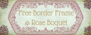 Vintage Rose and Frame Brushes