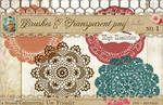 Doilies Brushes No 1
