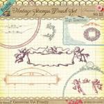 Freebie - Vintage Stamps No 13