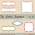 Calligraphy Frames Borders Shapes Brushes Vector