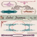 Free Vintage Border Frames Brushes Vectors Clipart