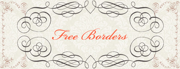 Free Calligraphy Borders Brushes and PS Shapes by ...