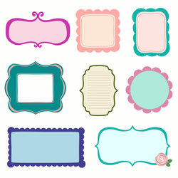 Free Scrapbook Vectors and Clipart PNG by starsunflowerstudio