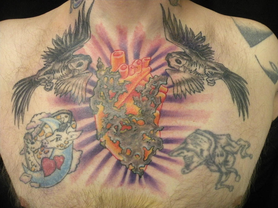 my chest - chest tattoo