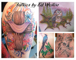 tattoos by ed weston by inkaholick