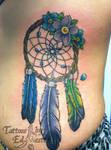 dreamcatcher tattoo by ed weston