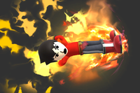 Forceofnatureandcorn Burning Dropkick by ForceOfNatureAndCorn