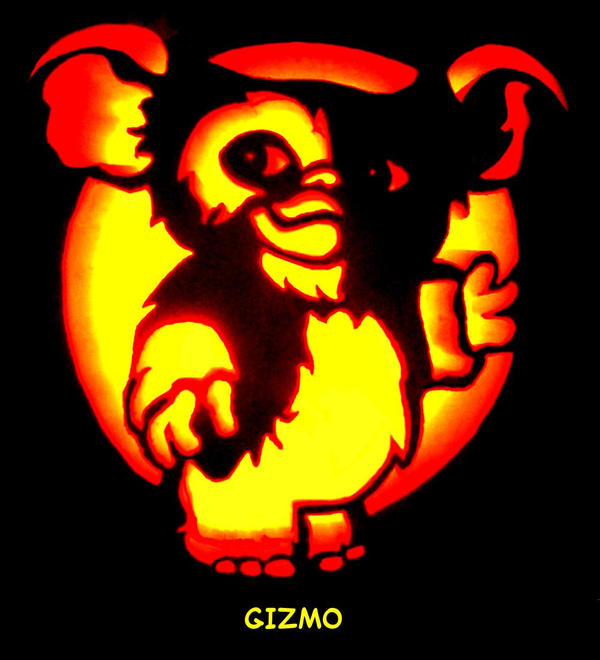 Gizmo pumpkin carving by sleigher on deviantart