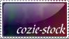 cozie-stock stamp by Cozie