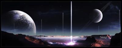 Pillars of Eve by galaxyclub