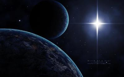 Birth of a Star by galaxyclub
