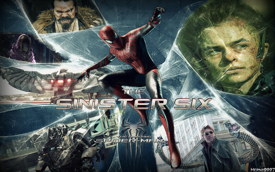 The Amazing Spider-Man and SINISTER SIX (FANMADE) by ...