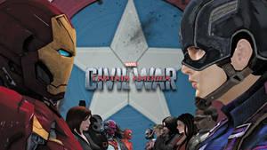 Capitan America: Civil War - XNALara Wallpaper